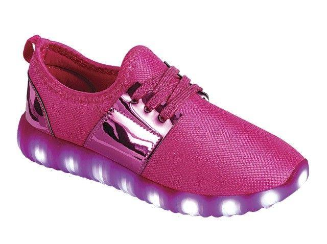Girl's Light LED Shoes For Baby Toddler Sneakers