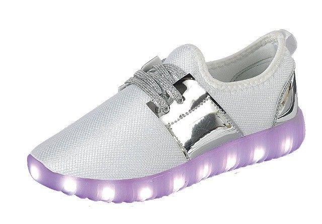 Girl's Light Up And Youth Kids Athletic Sneakers