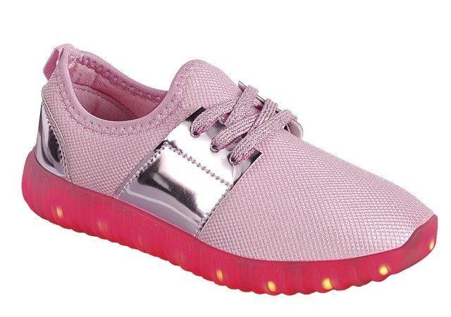 Girl's Light Shoes And Youth Sneakers