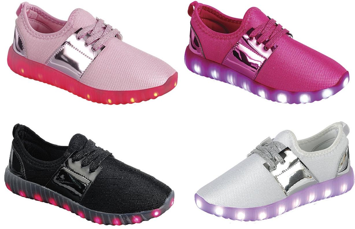 girl s light up led shoes