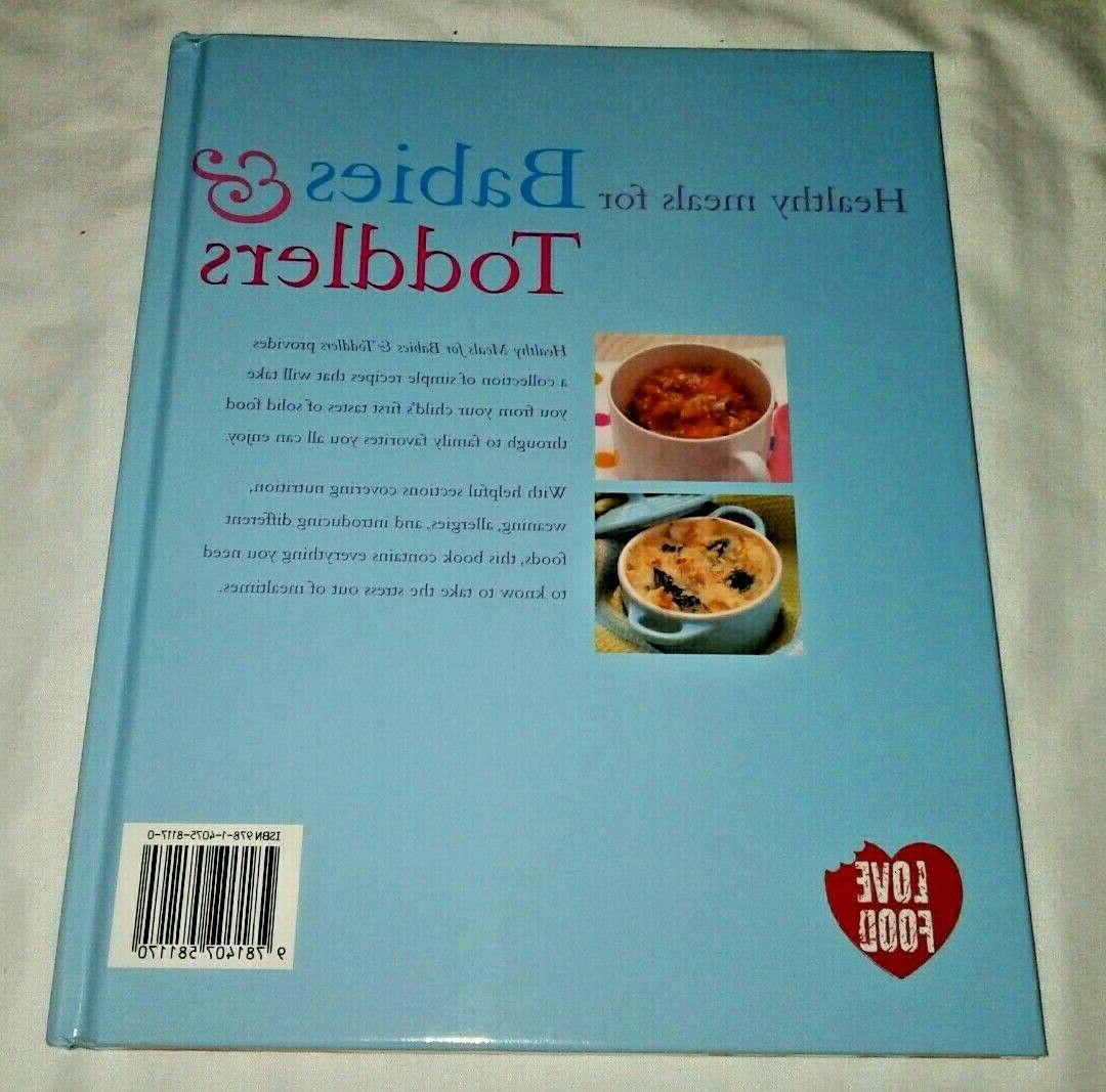 Healthy Meals & Toddlers by Barrett, Food