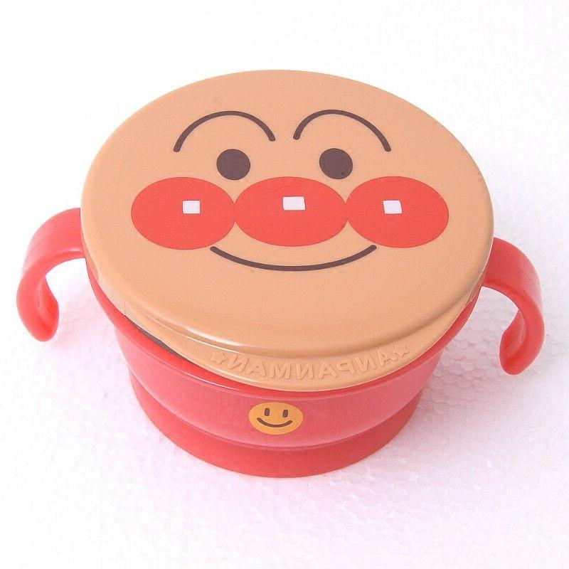Japanese Anpanman Spill-Proof Snack Cup Food Container for K