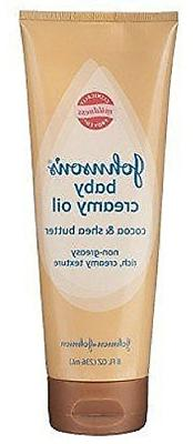 Johnson's Baby Creamy Oil, Cocoa and Shea Butter, 8 Ounce, 2