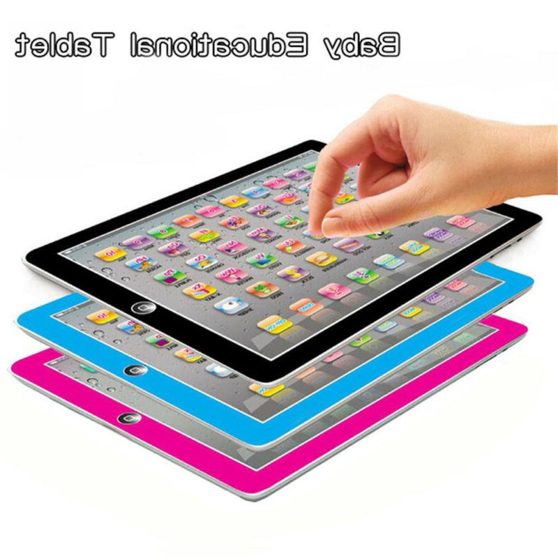 Baby Tablet Toys Girls Toy Year Old English