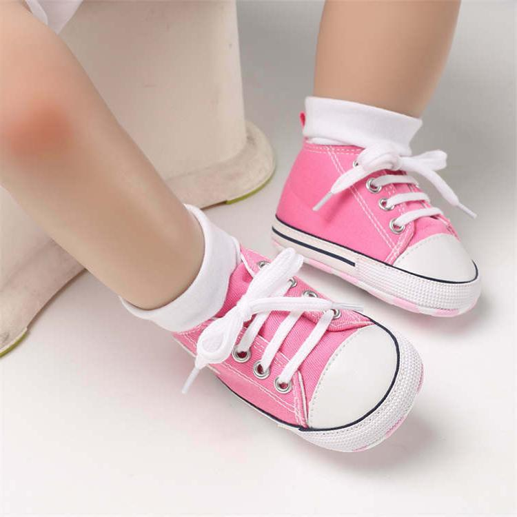 Latest Canvas Sneakers Baby Boy/Girl Sole,good