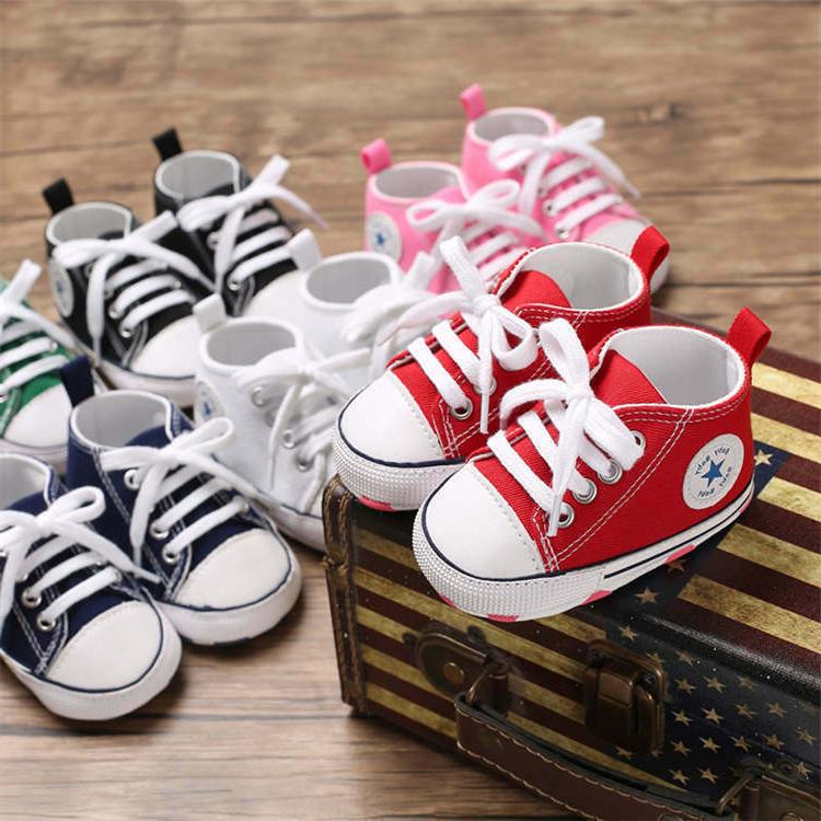 latest baby kids canvas sneakers baby boy