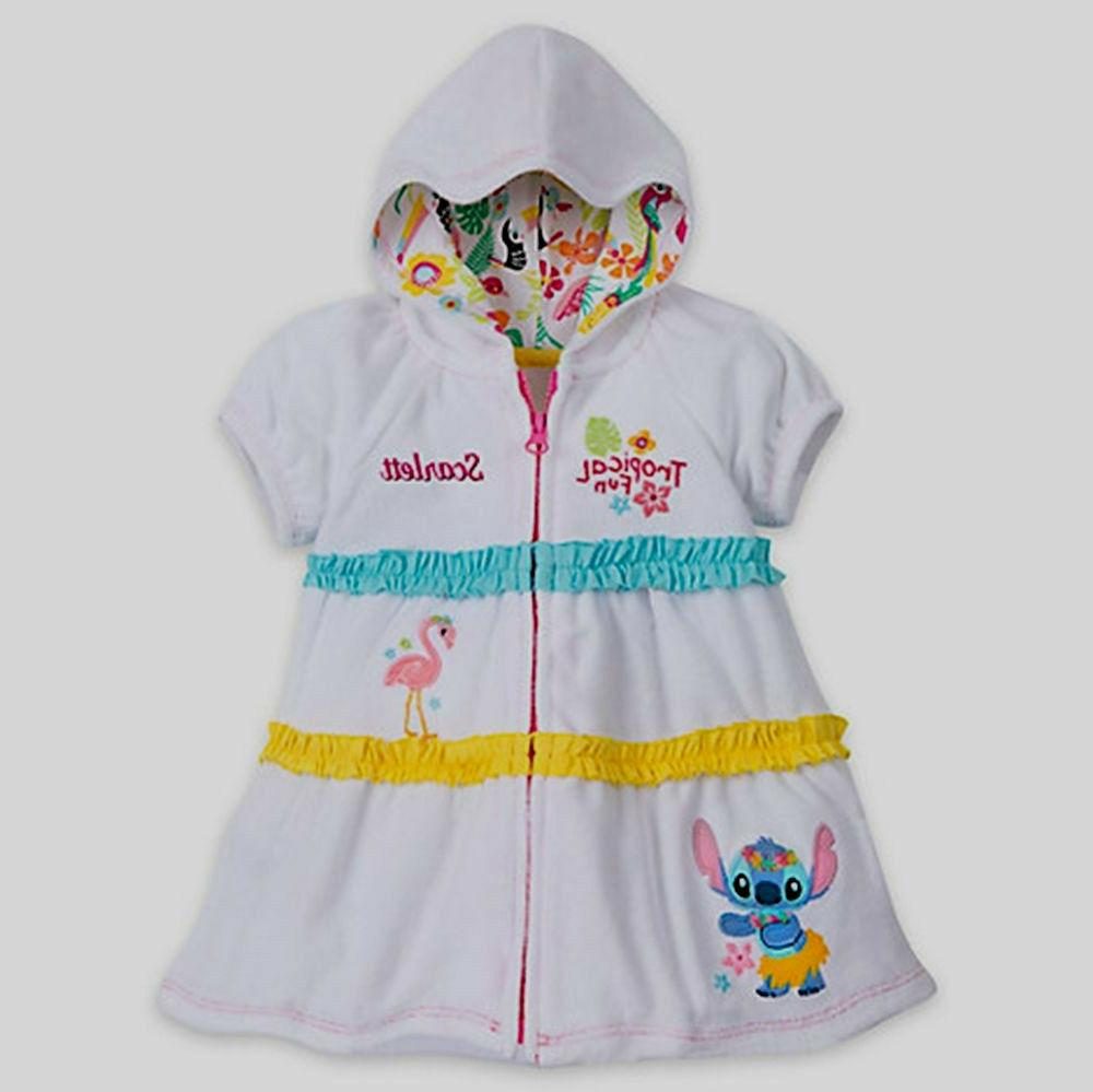 Disney Store Lilo & Stitch Tropical Fun Cover Up for Baby Sz