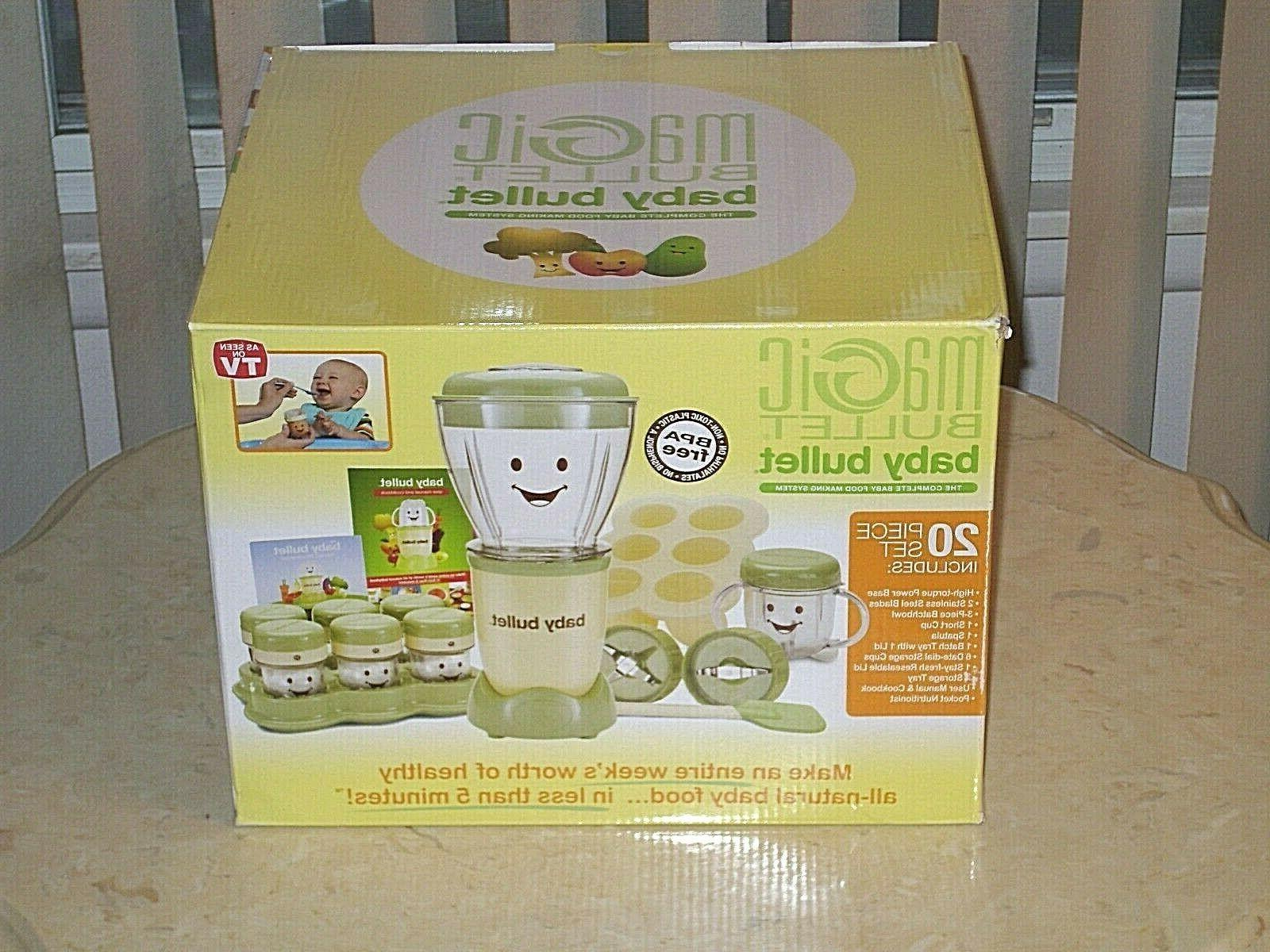 magic bullet baby care system 20 piece