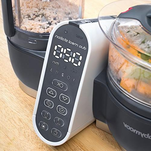 Duo Meal Maker | 1 Food with Steam Cooker, Baby Purees, Warmer, Sterilizer