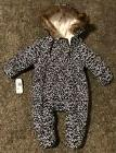 NWT NAUTICA thick, warm winter snowsuit baby / infant girl s