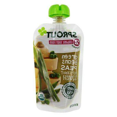 Sprout - Organic Baby Food Stage 2 6+ Months Peach, Banana,