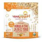 Happy Baby Organic Clearly Crafted Cereal Whole Grain Oats a