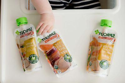 Sprout Baby Food Variety, 4