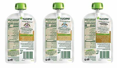 Sprout Baby Food Pouches, Variety, 4 Ounce