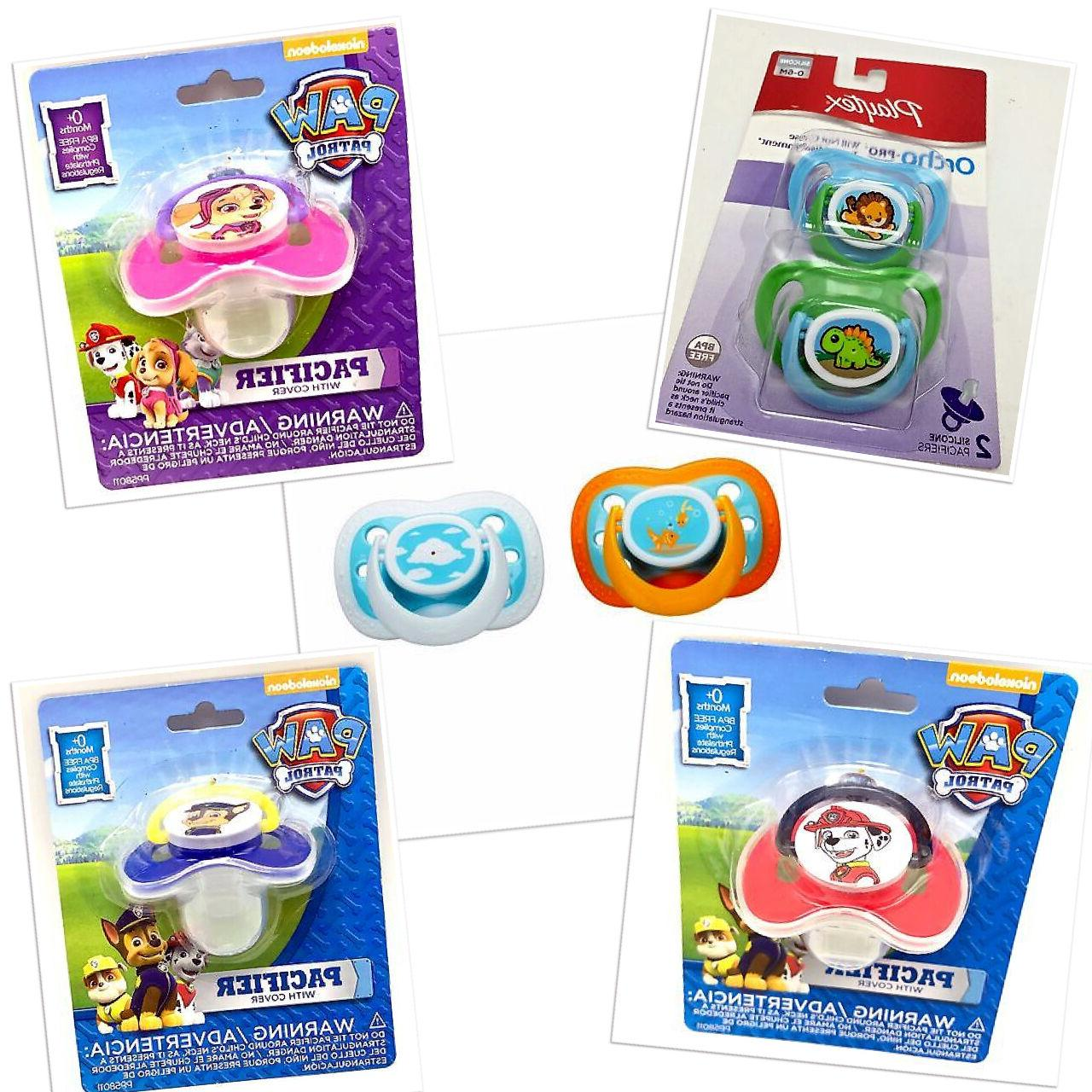 pacifiers and soothers sets for infant baby