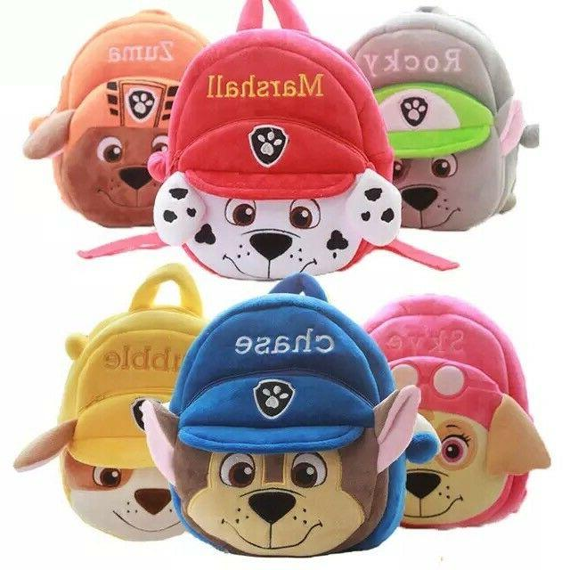 Paw and Plush Backpack for age to