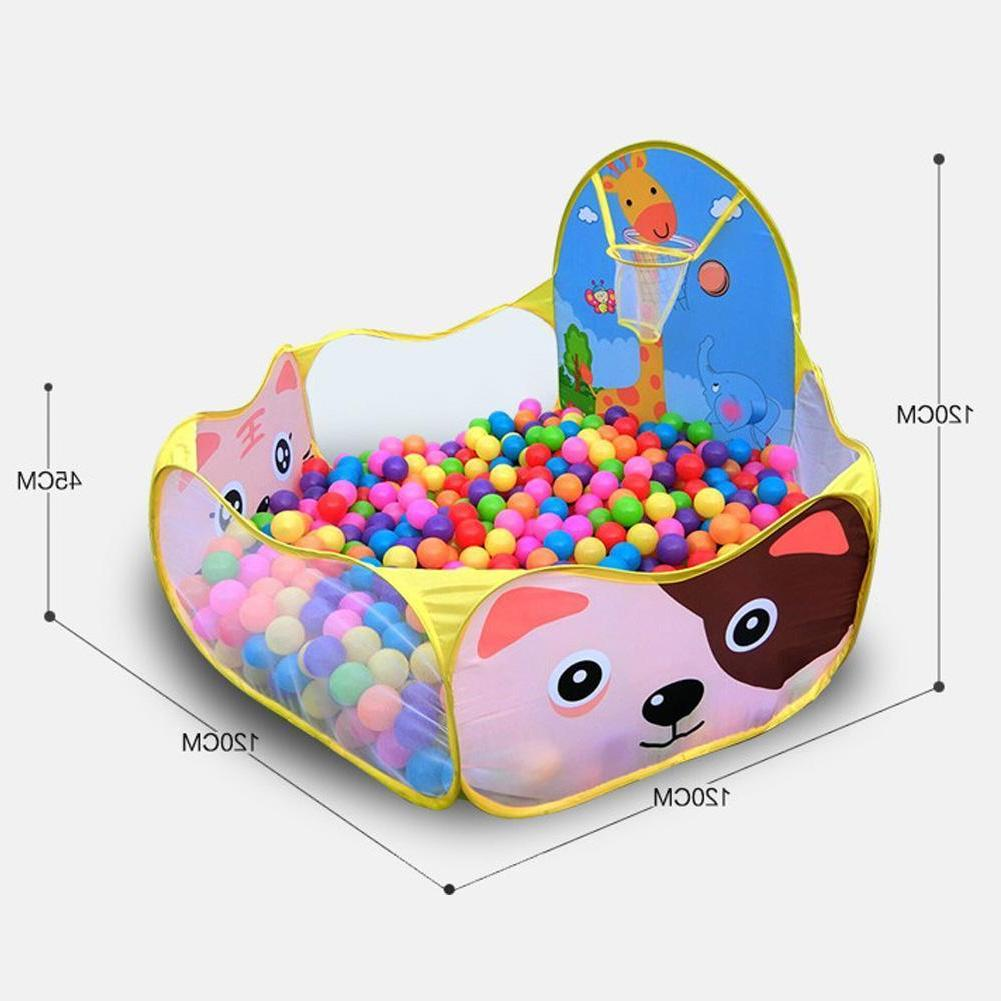 Portable Kids Ball Pit For Baby Outdoor Game Toy