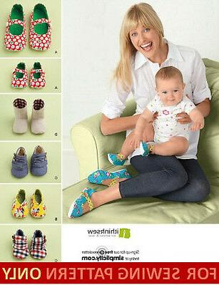 SEWING PATTERN! MAKE BABY SHOES + MATCHING SHOES FOR MOM! 5
