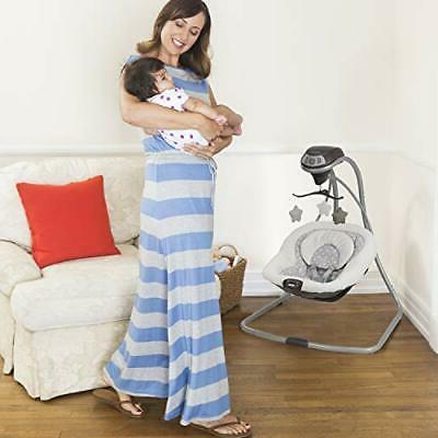 Graco Simple Baby Swing | Vibration, |