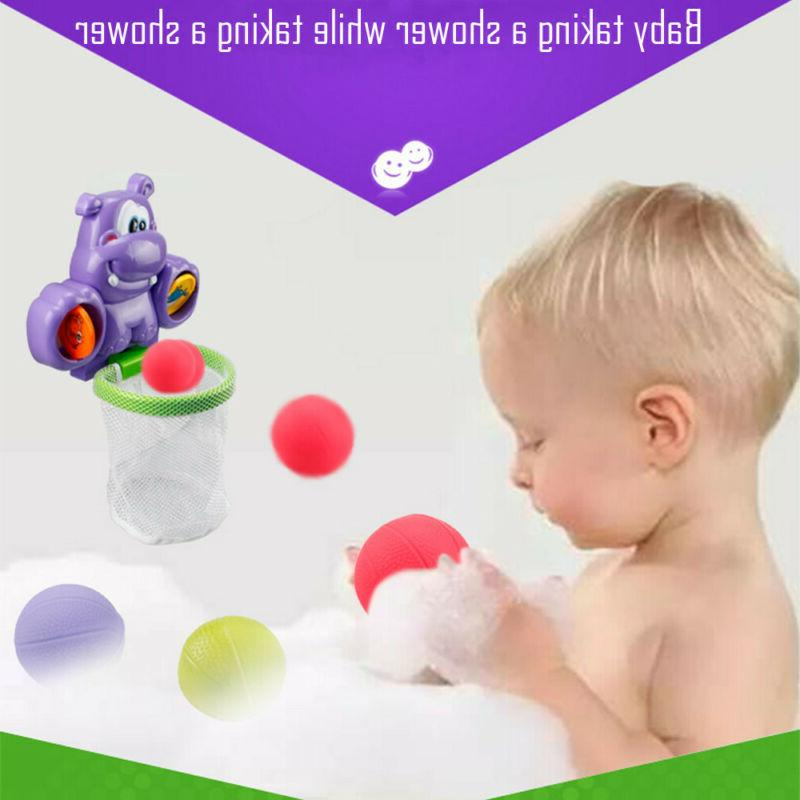 Toddler Bath Toys Kid Basketball Play For Baby Bathing