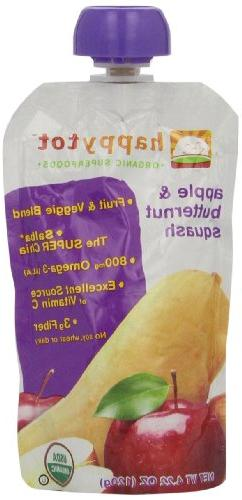 Happy Tots Apple and Butternut Squash, 4.22 oz