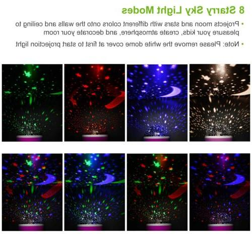TOYS FOR Year Old Light Star Moon Constellation Xmas