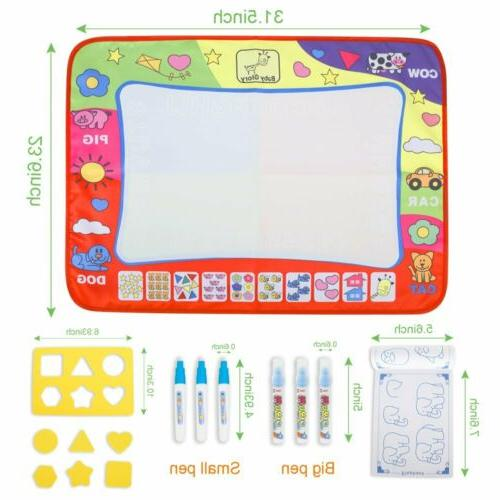 Water Drawing Writing Board Mat Baby Toys