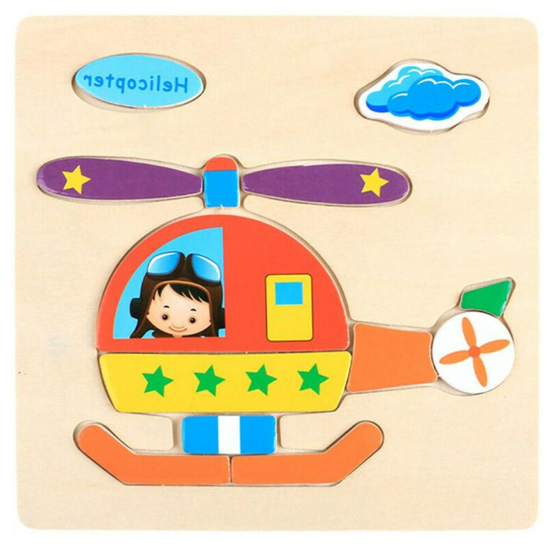 Wooden Puzzle Educational Baby For Month-5Y