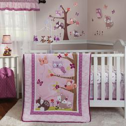 Lambs And Ivy Bedtime Originals Lavender Woods 3 Piece Crib