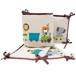 Lambs & Ivy Bedtime Originals Animal Choo Choo Express Crib