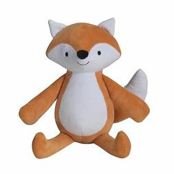 Bedtime Originals Baby League Fox Plush Scout, Orange