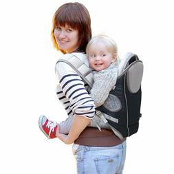 MINE Baby Carrier for Infants and Toddlers - 4 Carrying Posi