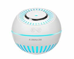 HUANHUA Mist Cool Baby Humidifier, 380ML Mini Desk Humidifie