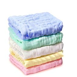 Kyapoo Baby Muslin Washcloths and Towels Premium Extra Soft