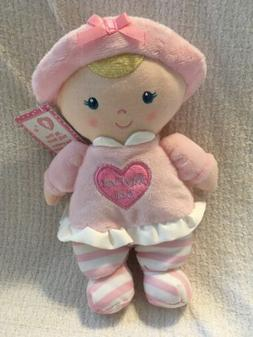 Kids Preferred My First Doll Plush Baby Girl Toy Pink Blonde