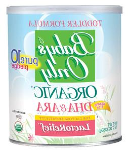 NATURE'S ONE 1 EA Baby's Only Organic LactoRelief Toddler, 1