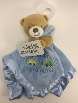 NEW Baby Starters Bear Thank Heaven For Little Boys Blue Sec