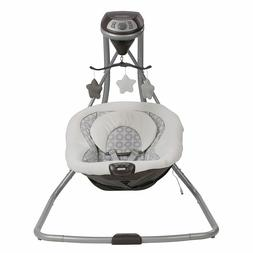 New Graco Simple Sway Baby Swing   2 Speed Vibration, Abbing