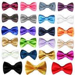 New Satin Bow Tie for Baby Toddler Kid Teen Boy Formal Tuxed