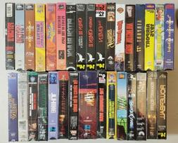 NEW/Sealed VHS ~ Classic Horror, Thriller, Sci-Fi - Free shi