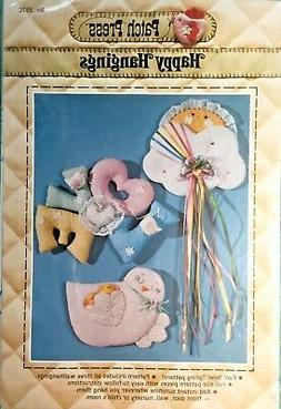 Nursery Wallhangings Pattern for Baby Happy Hangings by Patc