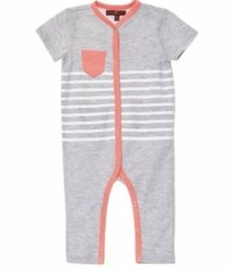NWT 7 FOR ALL MANKIND BABY BOY 1 PIECE OUTFIT COVERALL ROMPE