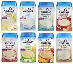 Gerber Oatmeal & Cereal for Baby---Assorted Flavors