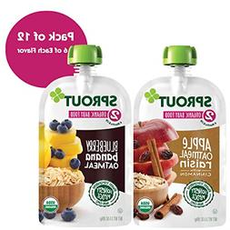 Sprout Organic Baby Food Pouches, Sprout Stage 2 Baby Food O