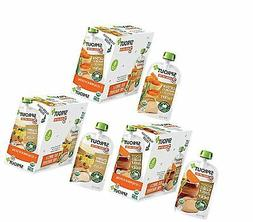 Sprout Organic Baby Food Pouches Stage 3 Meat Variety Pack,