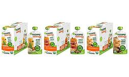 Sprout Organic Baby Food Pouches Stage 3 Plant Protein Varie