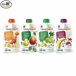 Organic Stage 2 Baby Food Simple Combos Variety Pack, 4 Ounc