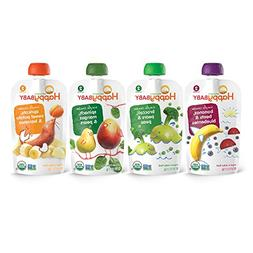 Happy Baby Organic Stage 2 Food Simple Combos Variety Pack 4