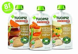 organic stage 3 baby food pouches meat