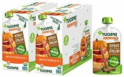 Sprout Organic Stage 3 Baby Food Pouches Pumpkin Apple Cinna